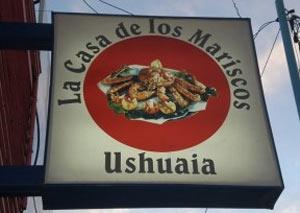 Como Joaquín de Palacio es un viajero integral, además de geógrafo, en sus visitas presta especial atención a la gastronomía local. Se nos hizo agua la boca cuando describió la mariscada que se ha comido en Ushuaia, Isla de Tierra del Fuego, República Argentina