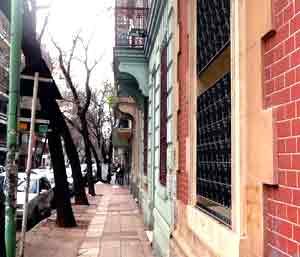 Veredas de Buenos Aires, Argentina.