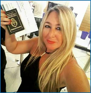 Verónica Caserio, psicóloga social de Buenos Aires, Argentina, autora de tangos, escritora