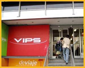 El VIPS de Serrano en Madrid donde me encontré con Casildo Herrera, el que fuera un gran sindicalista peronista de la CGT en Argentina