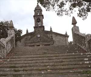 Sanuario de Nuestra Señora de los Milagos de Amil, Concello de Moraña, Provincia de Pontevedra, Galicia, España