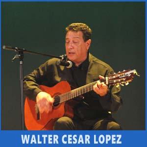 El cantautor uruguayo Walter César López se sumó a la fiesta argentina de Vigo, Auditorio de Teis, Julio 2017